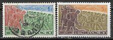 1959 SOUTH VIETNAM MVLH + Used Stamps (Scott # 120,123) CV $3.20