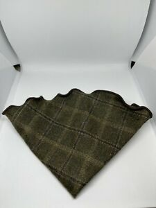 NWT ALEXANDER OLCH Dark Khaki Wool Pocket Round USA MSRP $60