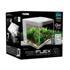 Fluval Flex 34 Liter LED Nano Aquarium weiß mit Technick