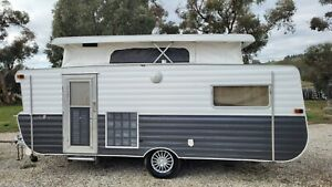 "Viscount Explorer Vintage 1978 Pop Top Family Bunk Caravan ""See My Video """