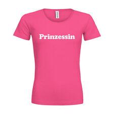 Prinzessin-Damen-T-Shirts mit Motiv aus Baumwolle