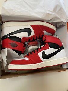 Nike Jordan 1 Retro AJKO Chicago 2021 Red Black Mens 11 DA9089-100 Box squished