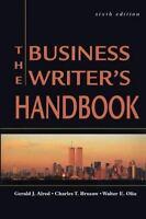 Business Writer's Handbook Hardcover Gerald J. Alred