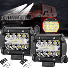 "4"" 60W 20LED Work Light Flood Spot Combo Off-road Driving Fog Lamp Boat SUVPLCA"