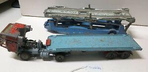 corgi toys truck and trailer su224  traingirl13 free post