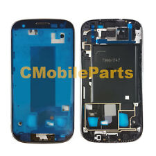 Silver MidFrame Mid Bezel Chassis Replacement for Samsung Galaxy S3 T999 I747