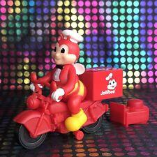 3''Jollibee Fun Store Motorcycle Jollibee Delivery Box Figure Toy