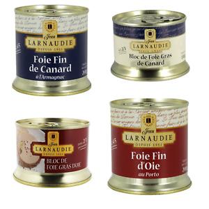 Bloc De Foie Gras De Canard French Gourmet Cuisine Larnaudie Fresh Luxury Gift