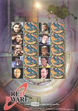 Bc-047 Gb 2004 Red Dwarf - Smiler sheet Unmounted Mint