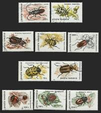 Romania - 1996 10v. Complete Set. Canceled. Insects. Beetles.