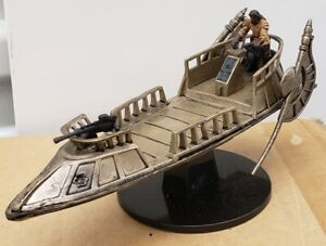 Star Wars Miniatures - Bounty Hunters: Nikto Gunner on Desert Skiff #43 w/Card