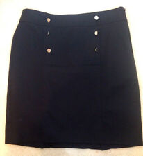 Item 355 Banana Republic Womens Size 10 Black Stretchy Basic Career Skirt