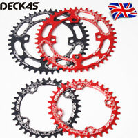 UK DECKAS 32-52T Narrow Wide 104mm Round/Oval MTB Bike Chainring Chainset Bolts