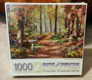 Bits & Pieces Puzzle 1000 Piece PATH IN THE FOREST Alan Giana BRAND NEW Sealed