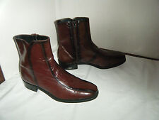 FLORESHEIM VINTAGE Dress Ankle boots Cowboy 8 D Men (BOOTS IS NARROW)