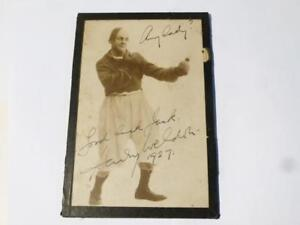 1927 Signed Photograph Harry Weldon Comedian Boxer The White Hope