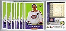 1X JEAN BELIVEAU 1999 00 Upper Deck Retro  #85 NMMT Canadiens Lots Available