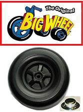"""Replacement Black Rear Wheel for The Original Big Wheel 16"""" Trike with a Cap Nut"""