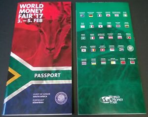 World Money Fair Berlijn Berlin 2017 Passport complete with all the coins