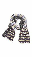 Marc By Marc Jacobs Men's Gray Finsbury Knit Scarf - M4001564