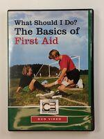 Cambridge Educational DVD: What Should I Do Basics of First Aid (B-i)