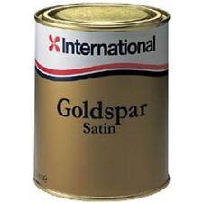 International Goldspar Satin Gloss Marine Yacht Varnish 750ml Tin
