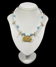 Collana Azteca in Ceramica Argento 925
