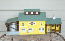 Large Vintage Mid 20th Century Folk Art Barn Farm Canning Factory Model Building