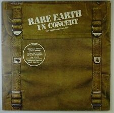 "2x12"" LP-RARE EARTH-Rare Earth in Concert-k5623-gimmic COVER"