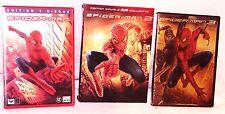 Spider Man 1,2,3 Le 2 est Un Collector D.V.D. CD Clean