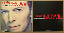 David Bowie Rare 1993 Set of 2 Double Sided Promo Poster Flat of Black Cd Mint
