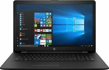 "NEW HP 17.3"" BS019DX Laptop i7-7500u - 8GB DDR4 1TB Hard Drive DVDRW Windows 10"