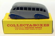 Vintage Dinky 29B - Streamlined Motor Bus - Grey Blue