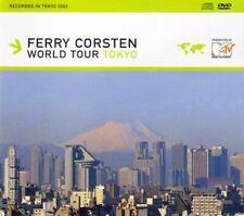 FERRY CORSTON world tour - tokyo (mixed CD album & DVD video, 2002) trance,