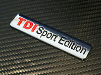 METAL VW TDI SPORT EDITION Badge emblem Golf Gti Caddy Bora Polo Lupo MK4 mk5