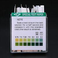 100 Stück Indikatorpapier Teststreifen Säure Base Testpapier Streifen PH 4.5-9.0