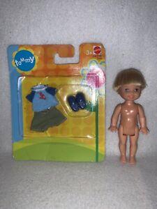 Barbie Rapunzel 2001 Prince Tommy Little Brother Doll Excellent