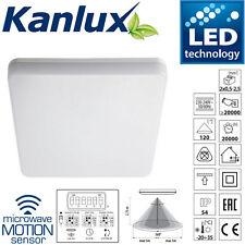 KANLUX 24W del Carré LAMPE MICRO-ONDES CAPTEUR 2D ajustement IP54 4000K