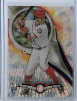 Victor Robles Washington Nationals 2018 Bowman High Tek Pyroteknics Rookie PT-VR