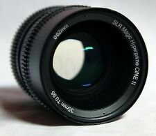 SLR Magic 35mm t/0.95 hyperprime cine ii f. Nex, Fuji X, micro 4/3 u. eos-m top!