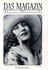Maria Corda Titelblattt-Fotographie DAS MAGAZIN  c.1928