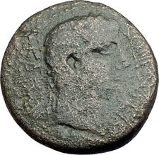 AUGUSTUS 10AD Thessalonica Macedonia Authentic Ancient Genuine Roman Coin i62862