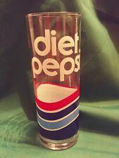 Tall Glass Diet Pepsi Vintage