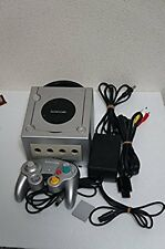 Nintendo Japan Game Cube GAMECUBE Silver console Used Good Condition