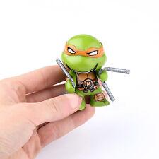 4PCS Teenage Mutant Ninja Turtles TMNT Cute Action Collection Figure Toys
