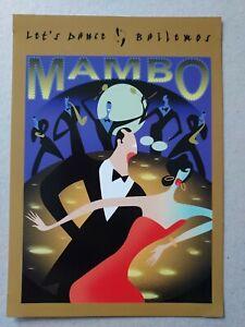 US  2005 Let Dance -- Mambo 23c Postal Cards