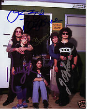 THE OSBOURNES AUTOGRAPH SIGNED PP PHOTO POSTER