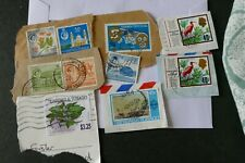 11 Trinidad  postage stamps postal philately philatelic kiloware mail
