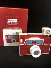 TOY CAMERA FISCHER PRICE 2020 Hallmark Ornament  Free shipping MIB