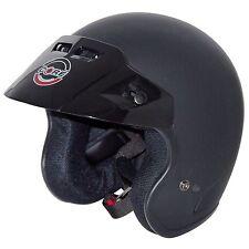 Core Tourer Open-Face Helmet (Flat Black, X-Small)